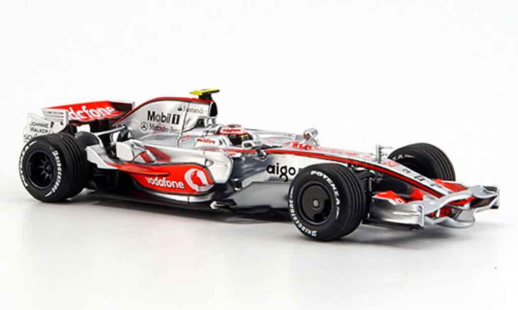 Mercedes F1 1/43 Minichamps McLaren MP 4 23 Vodafone Kovaleinen 2008 diecast model cars