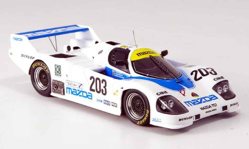 Mazda 767B 1/43 Spark No.203 Le Mans Terada Kennedy 1988 diecast model cars