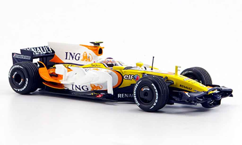 Renault F1 1/43 Minichamps ing f1 team r28 car no.6 2008 miniature