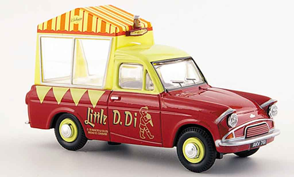 Ford Anglia 1/43 Oxford Van Di Maschios Ice Cream Eiswagen