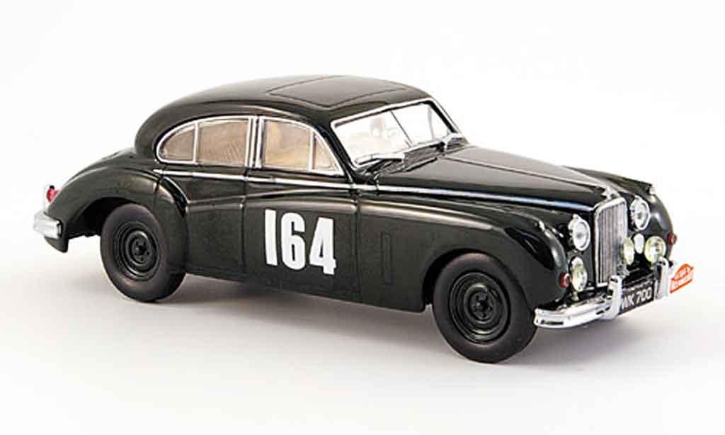 Jaguar MK 7 1/43 Oxford m no.164 sieger rallye monte carlo 1956 miniature