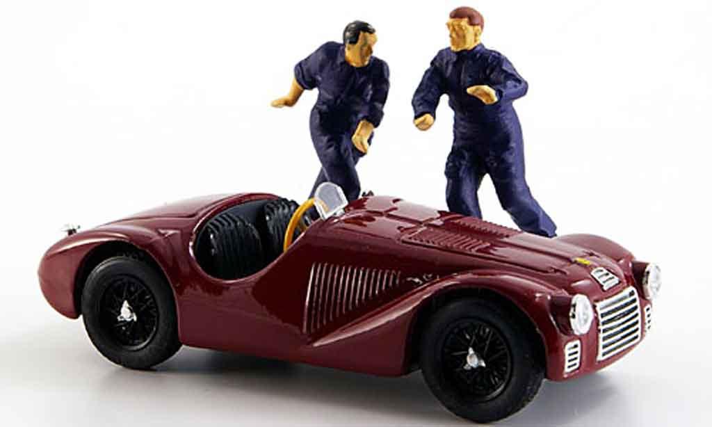 Ferrari 125 1/43 Brumm zwei figuren 1947 diecast model cars