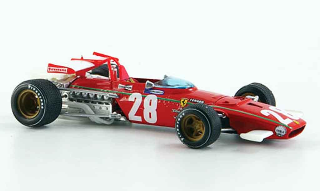 Ferrari 312 B 1/43 Brumm b no.28 ignazio giunti gp belgien 1970 miniatura