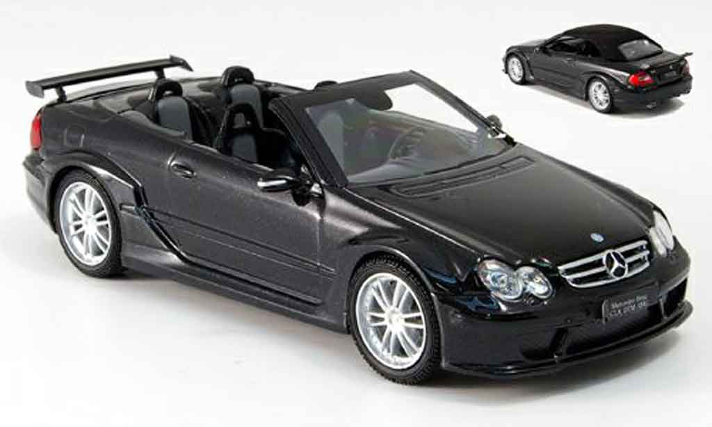 Mercedes Classe CL DTM 1/43 Kyosho K DTM AMG noire miniature