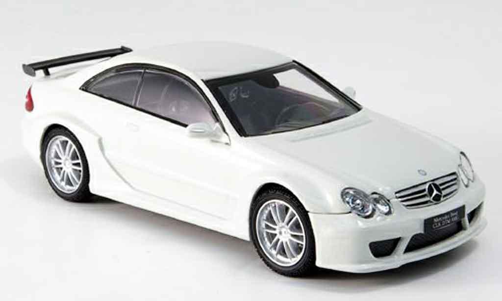 Mercedes Classe CLK DTM 1/43 Kyosho AMG blanche miniature