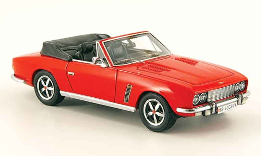 Jensen SIII 1/43 Neo Interceptor DHC rouge miniature
