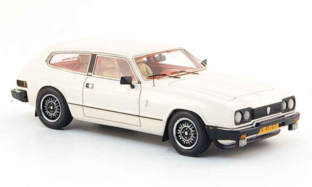 Reliant Sciavecar 1/43 Neo se 6 blanche 1979 miniature