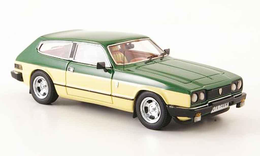 Reliant Sciavecar 1/43 Neo se6 grun beige 1980 miniature