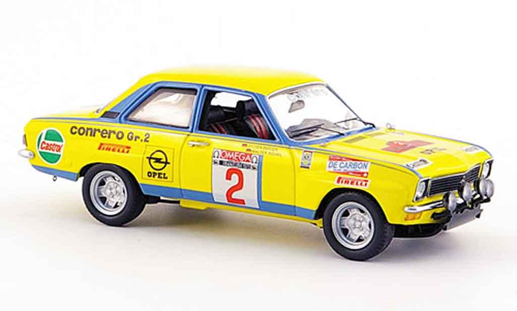 Opel Ascona A 1/43 Schuco A no.2 conrero rallye elba 1975 miniature