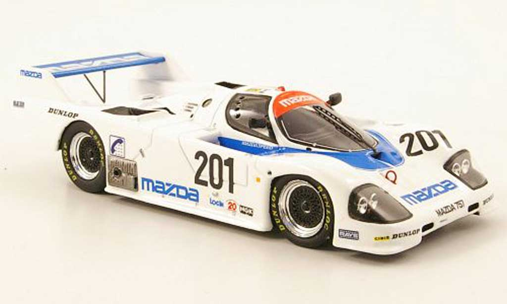 Mazda 757 1/43 Spark No.201 speed 24h Le Mans 1987 miniature