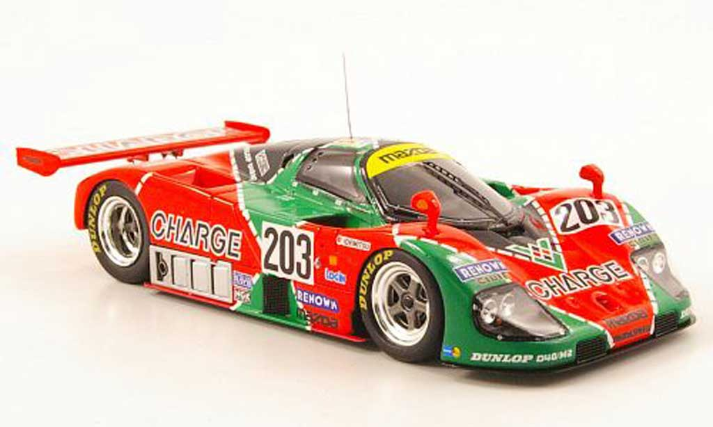 Mazda 767B 1/43 Spark No.203 Charge 24h Le Mans 1990 diecast model cars