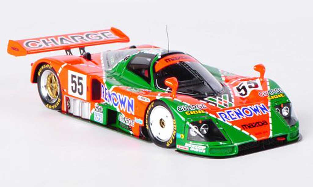 Mazda 787B 1/43 Spark No.55 Renown V.Weidler / J.Herbert / B.Gachot 24h Le Mans 1991 miniature