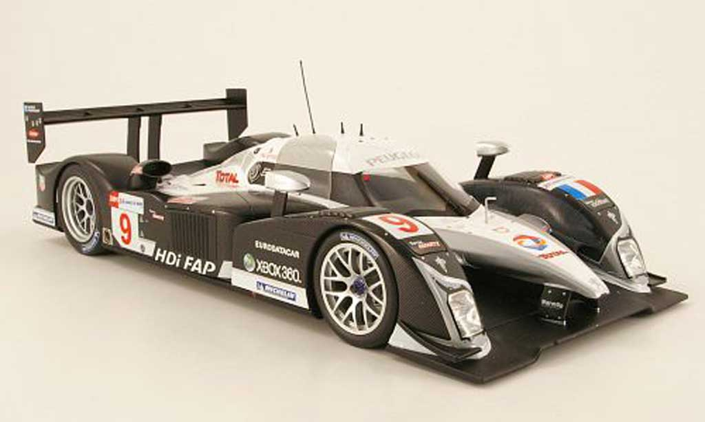 peugeot 908 2008 miniature hdi fap team sport 24h le mans minichamps 1 18 voiture. Black Bedroom Furniture Sets. Home Design Ideas