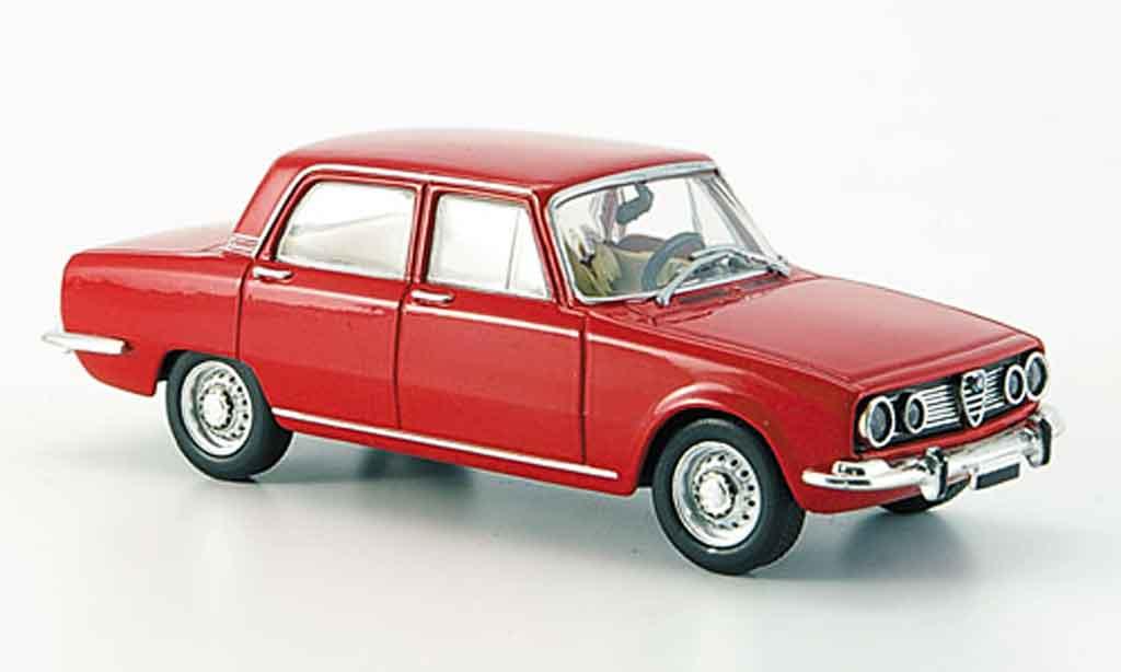 alfa romeo 1750 gtv rot 1968 mcw modellauto 1 43 kaufen verkauf modellauto online. Black Bedroom Furniture Sets. Home Design Ideas