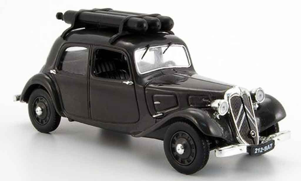 citroen traction 11 gray legere gazogene 1941 mcw diecast model car 1 43 buy sell diecast car. Black Bedroom Furniture Sets. Home Design Ideas