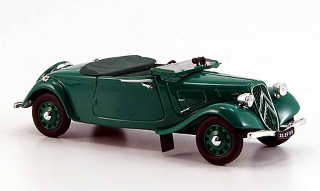 citroen traction 11 bl convertible green 1938 mcw diecast model car 1 43 buy sell diecast car. Black Bedroom Furniture Sets. Home Design Ideas