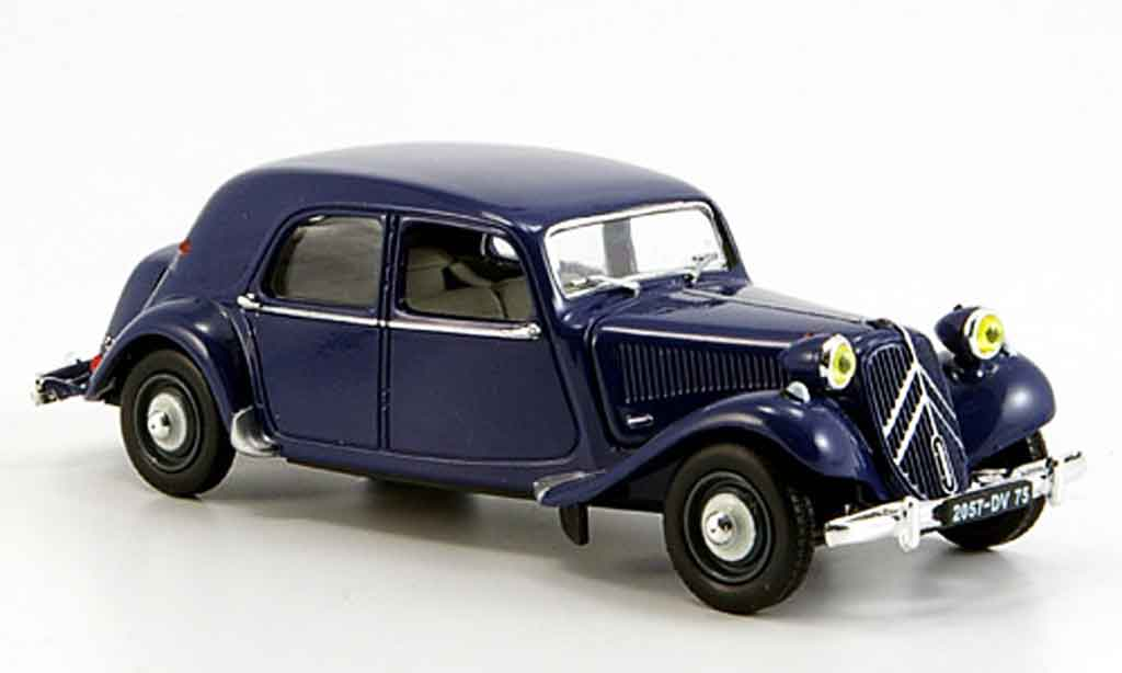 citroen traction 11 b blue 1957 mcw diecast model car 1 43 buy sell diecast car on. Black Bedroom Furniture Sets. Home Design Ideas
