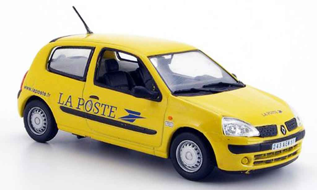 renault clio ii la poste 2002 mcw diecast model car 1 43 buy sell diecast car on. Black Bedroom Furniture Sets. Home Design Ideas