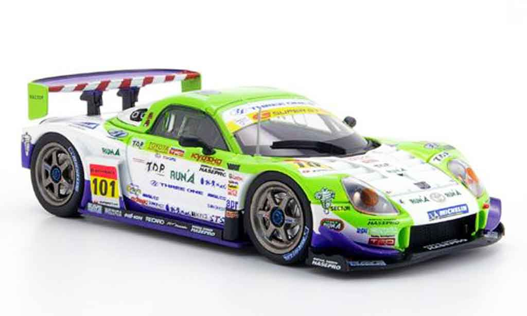 Toyota MR 1/43 Ebbro s sgt no. 101 sepang 2007 miniature