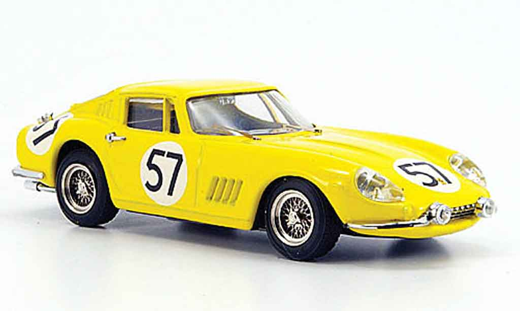 ferrari 275 1966 miniature gtb 4 coupe le mans noblet dubois best 1 43 voiture. Black Bedroom Furniture Sets. Home Design Ideas