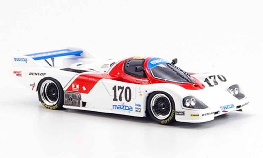 Mazda 757 1/43 Spark No.170 Kennedy Galvin Dieudonne Le Mans 1986 diecast model cars