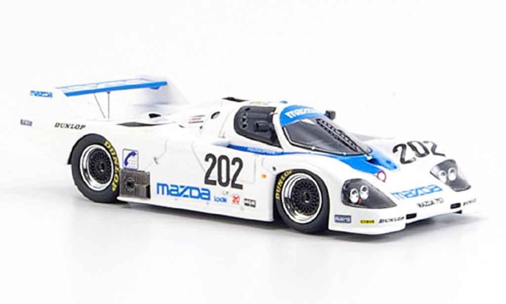 Mazda 757 1/43 Spark No.202 Kennedy Galvin Dieudonne Le Mans 1987 miniature