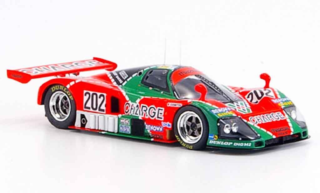 Mazda 787B 1/43 Spark No.202 Gachot Herbert Weidler Le Mans 1990 miniature