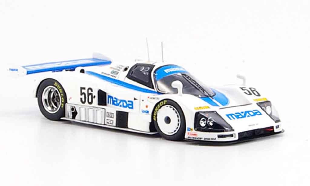 Mazda 787B 1/43 Spark No.56 Achter Le Mans 1991 miniature