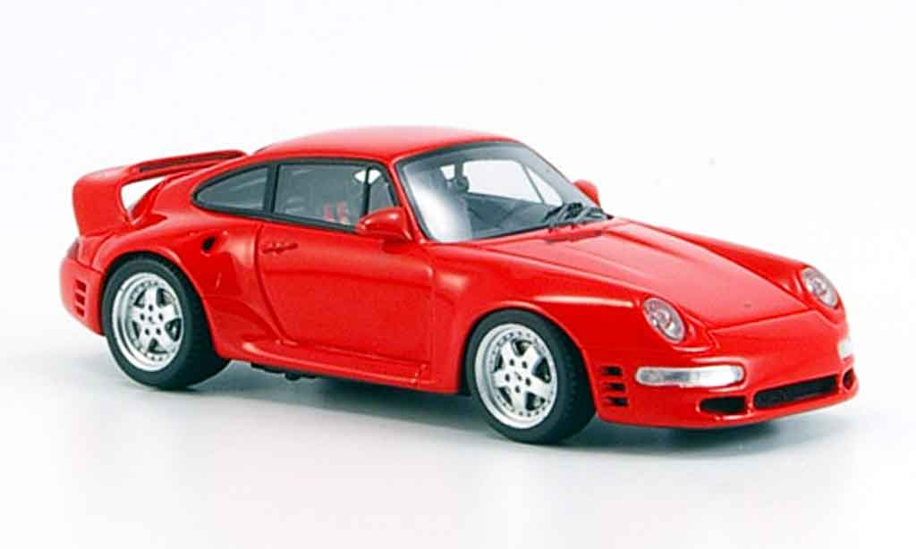 Ruf CTR 2 1/43 Spark Sport rouge 1996 miniature