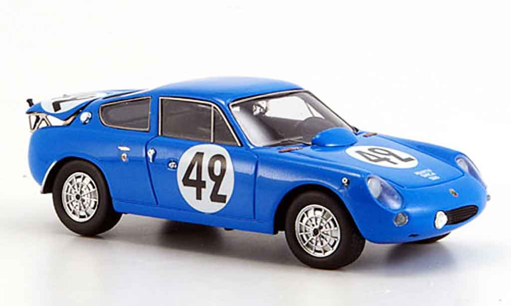 Simca 1300 1/43 Spark abarth no.42 rouge 24h le mans 1962 miniature