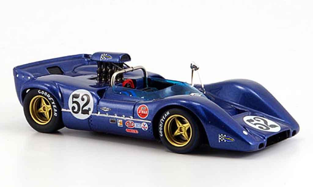 McLaren M6 1/43 Spark B No.52 Sieger Fuji Peter Revson 1968 diecast model cars