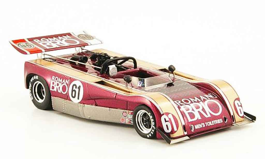 Lola T260 1/43 Spark No.61 Roman Brio Watkins Glen 1972 miniature