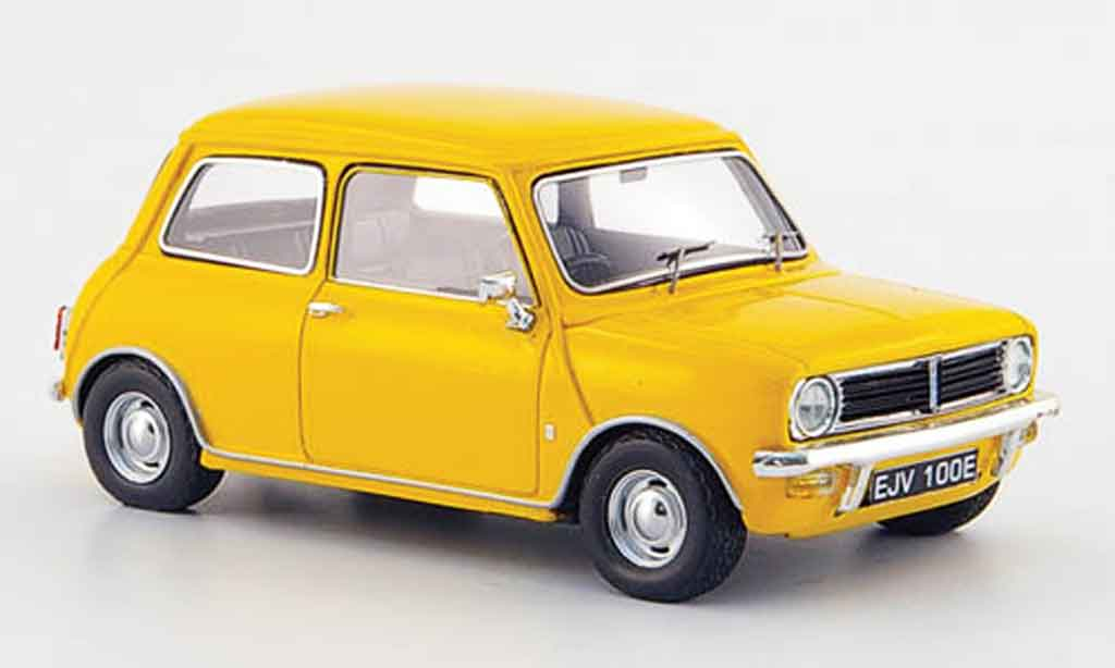 austin mini clubman clubman yellow 1969 spark diecast model car 1 43 buy sell diecast car on. Black Bedroom Furniture Sets. Home Design Ideas
