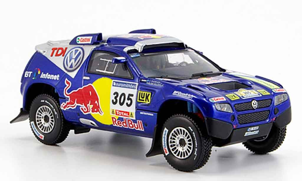 Volkswagen Touareg 1/43 Norev no.305 paris dakar diecast model cars
