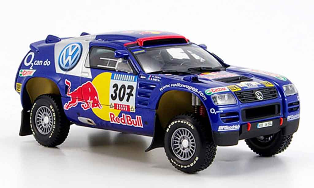 Volkswagen Touareg 1/43 Minichamps no.307 paris dakar 2005 diecast model cars
