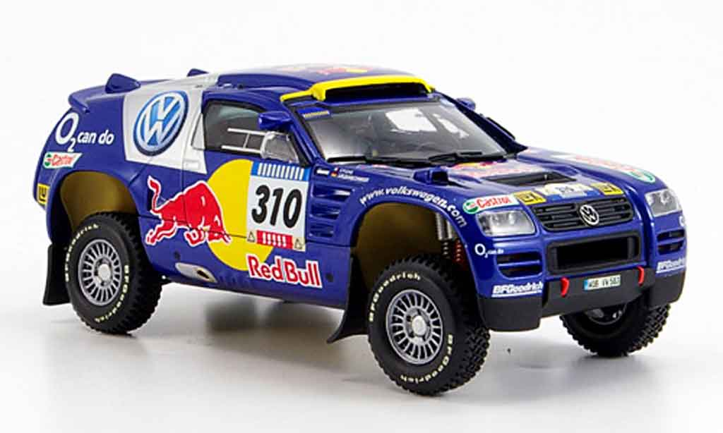 Volkswagen Touareg 1/43 Minichamps no.310 paris dakar 2005 diecast model cars