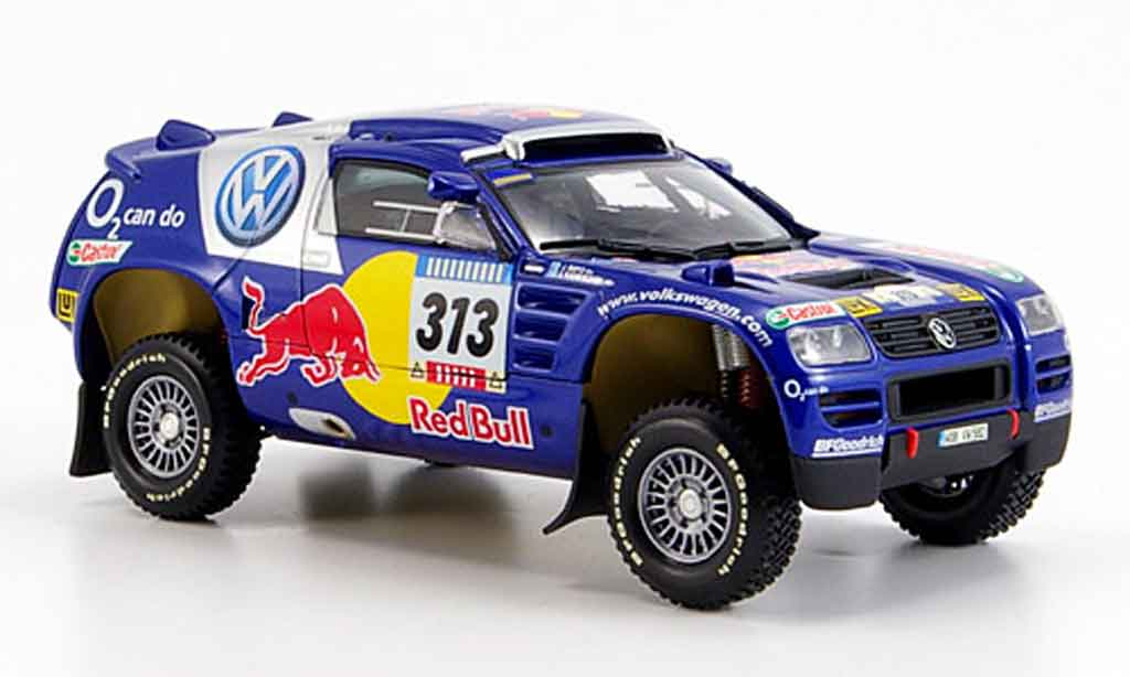 Volkswagen Touareg 1/43 Minichamps no.313 paris dakar 2005 diecast model cars