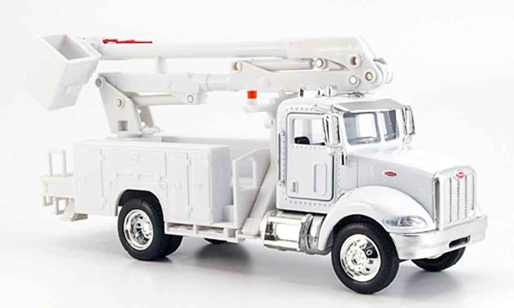 Peterbilt 335 1/43 New Ray blanche Steigerwagen miniature