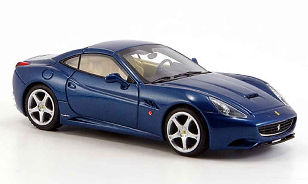 Ferrari California 2008 1/43 Look Smart 2008 bleu geschlossen miniature