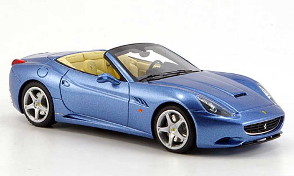 Ferrari California 2008 1/43 Look Smart 2008 bleue geoffnetes Verdeck miniature
