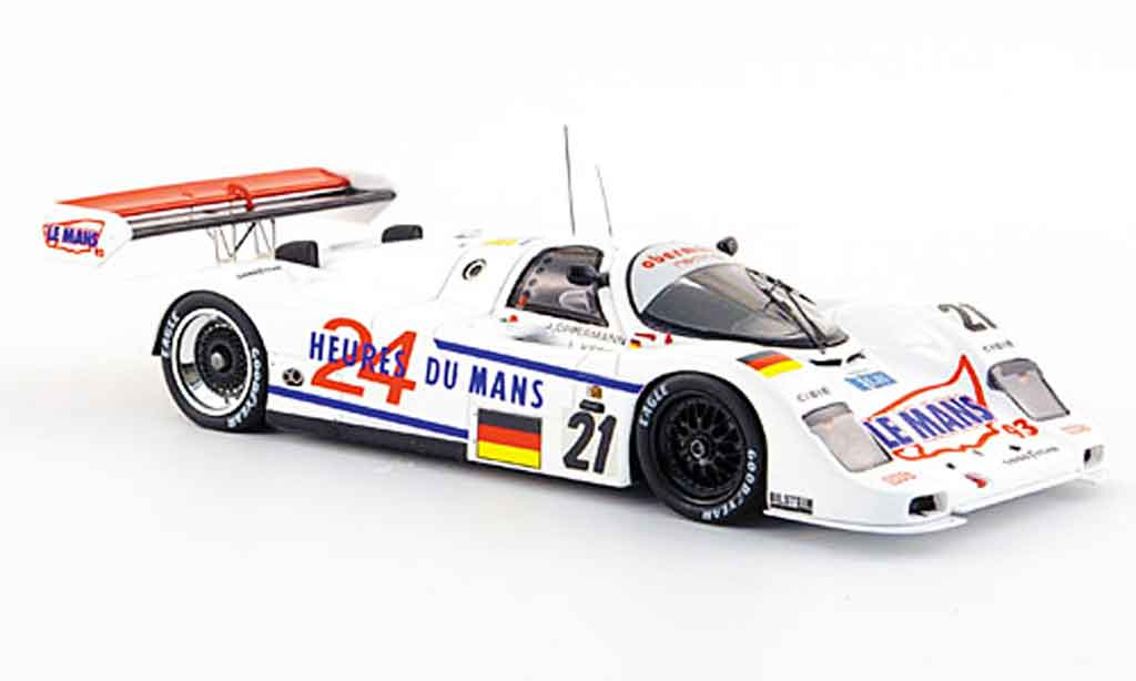 Porsche 962 1993 1/43 Spark No.21 Siebter Le Mans miniature