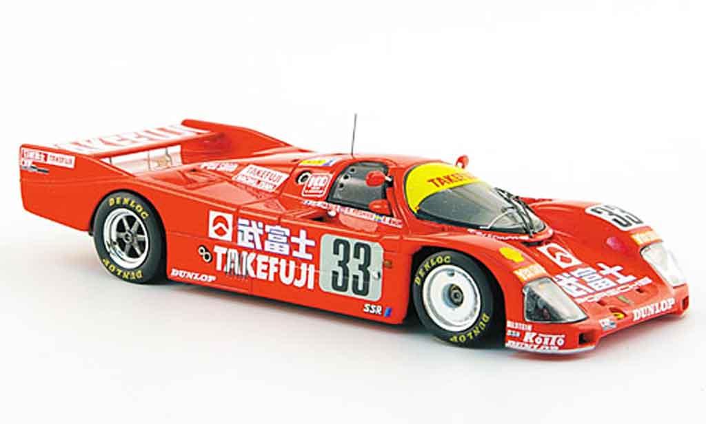 Porsche 962 1988 1/43 Spark No.33 Zehnter Le Mans diecast model cars