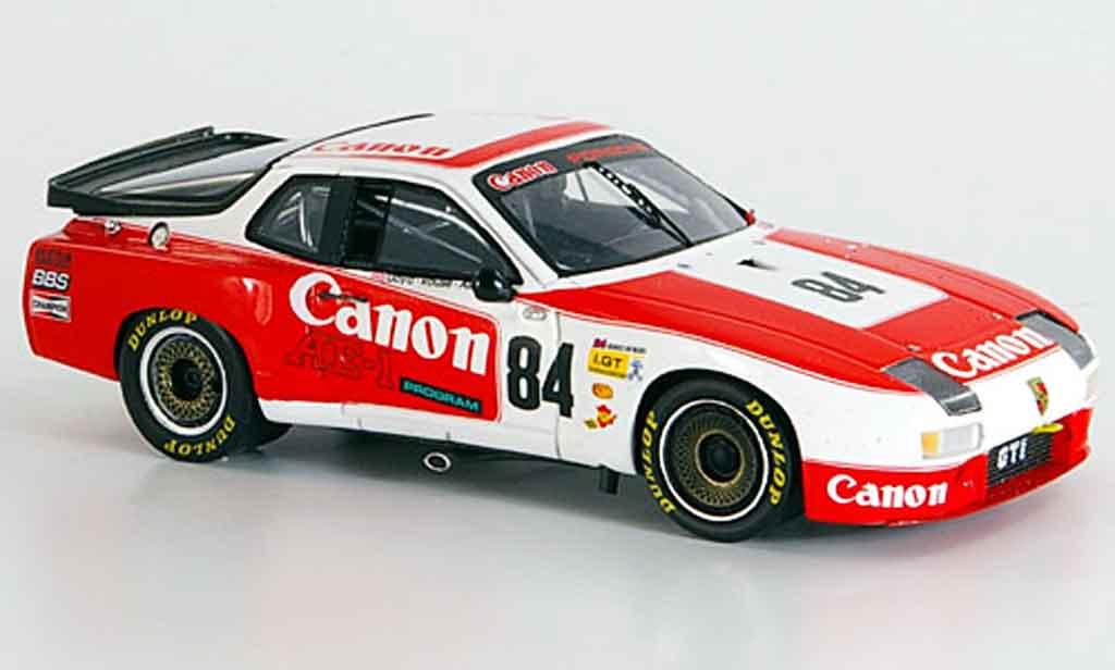 Porsche 924 1982 1/43 Spark GTR No.84 Le Mans miniature