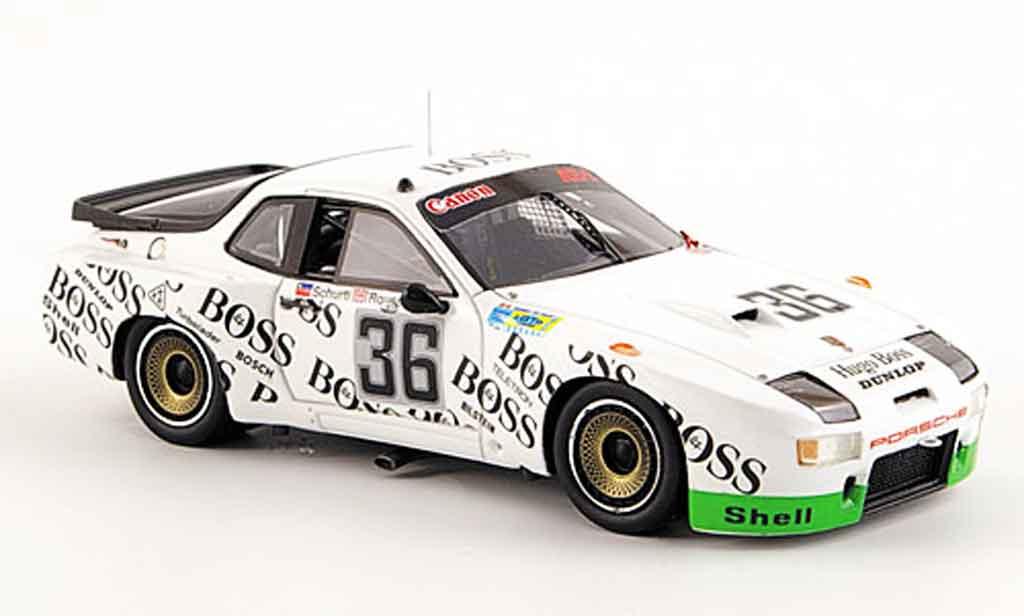 Porsche 924 1981 1/43 Spark GTP No.36 Elfter Le Mans miniature