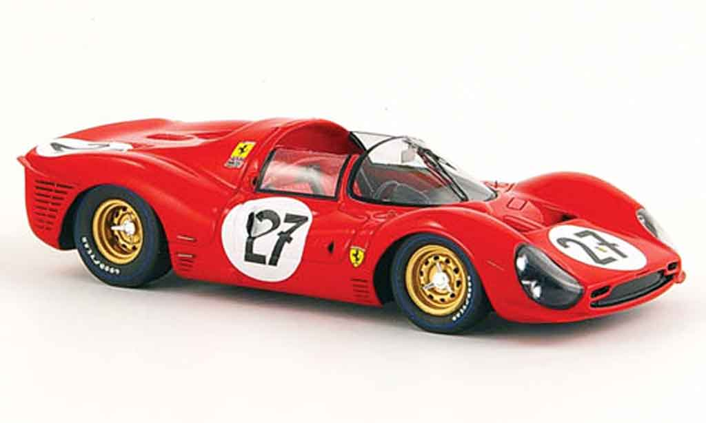 Ferrari 330 P3 1/43 Red Line no.27 rodriguez ginther 24h le mans 1966 diecast model cars