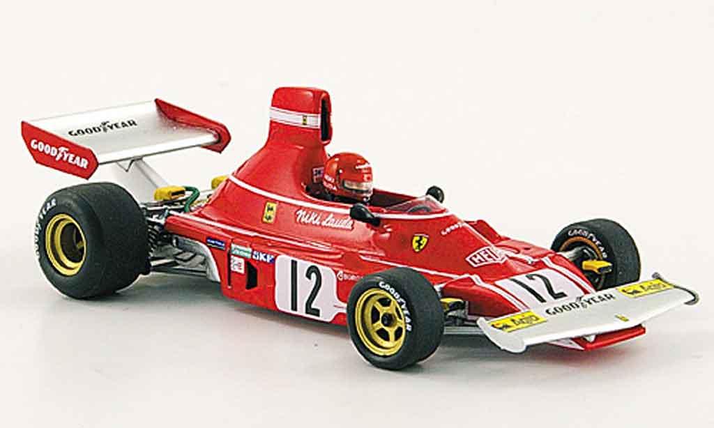 Ferrari 312 B 1/43 Red Line b 3 no.12 niki lauda sieger gp spanien 1974 diecast model cars