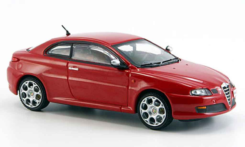 alfa romeo gt 1900 miniature jtd rouge 2007 m4 1 43 voiture. Black Bedroom Furniture Sets. Home Design Ideas