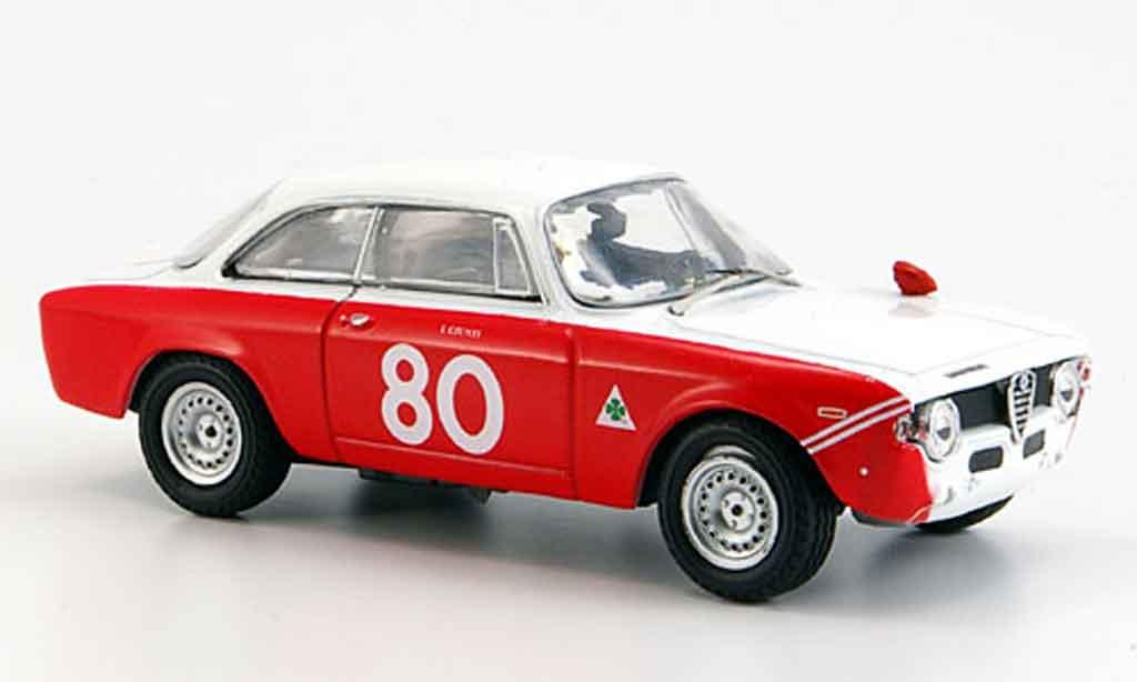 Alfa Romeo Giulia 1600 GTA 1/43 M4 1600 gta no.80 giunti vallelunga 1967 miniature