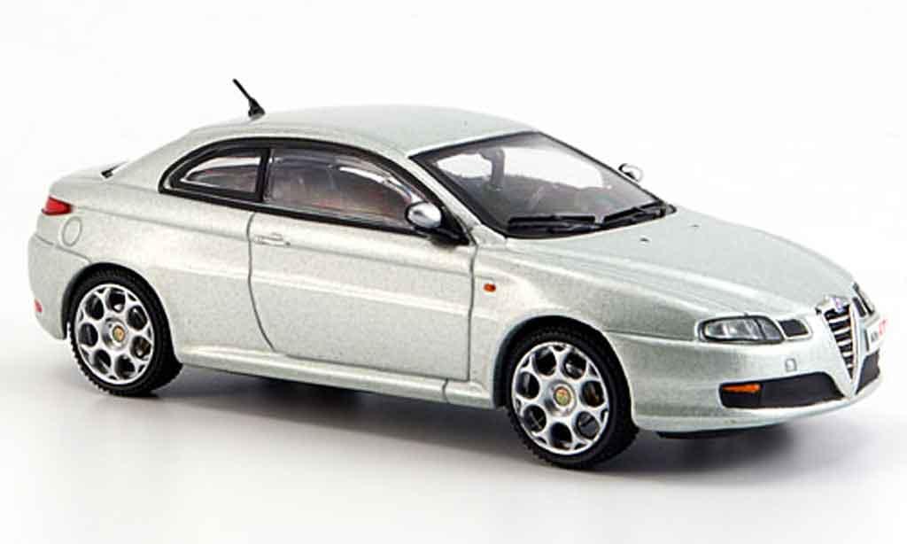 Alfa Romeo GT 1900 1/43 M4 jtdm black line grise metalliseegrise 2007 miniature