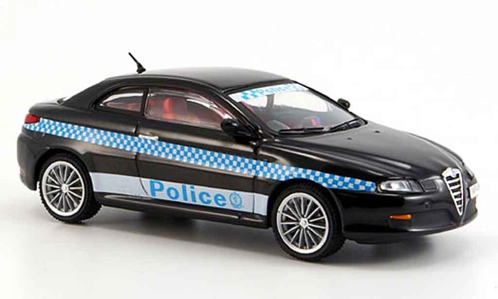 Alfa Romeo GT 2000 1/43 M4 gts police sydney 2006 miniature